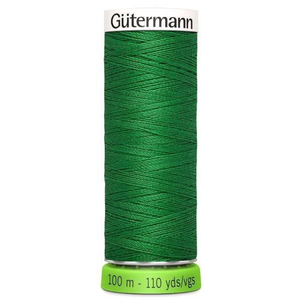 Gutermann Recycled Thread | 100m | Colour 396 Mid Green from Jaycotts Sewing Supplies