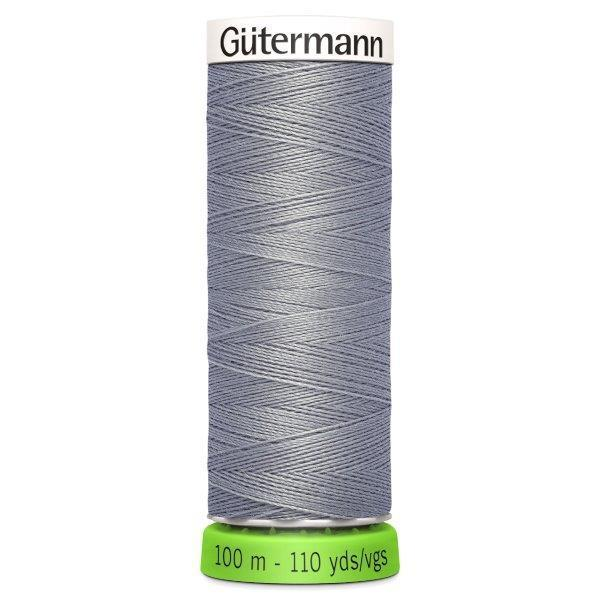 Gutermann Recycled Thread | 100m | Colour 40 Grey from Jaycotts Sewing Supplies