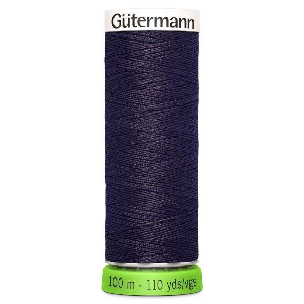Gutermann Recycled Thread | 100m | Colour 512 Aubergine from Jaycotts Sewing Supplies