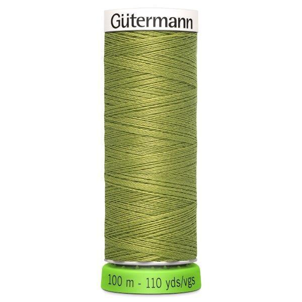 Gutermann Recycled Thread | 100m | Colour 582 Khaki from Jaycotts Sewing Supplies