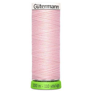 Gutermann Recycled Thread | 100m | Colour 659 Pink from Jaycotts Sewing Supplies