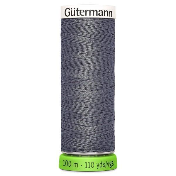 Gutermann Recycled Thread | 100m | Colour 701 Grey from Jaycotts Sewing Supplies