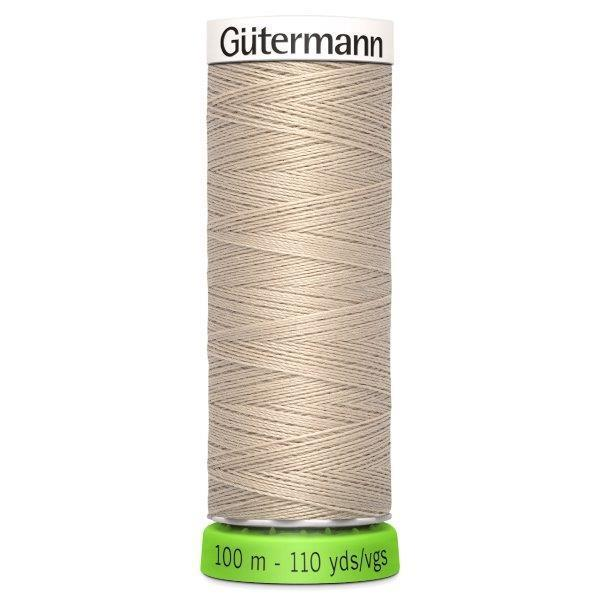 Gutermann Recycled Thread | 100m | Colour 722 Beige