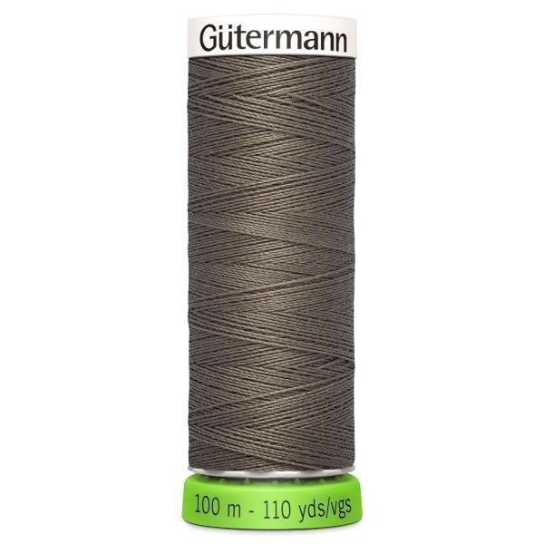 Gutermann Recycled Thread | 100m | Colour 727 Taupe from Jaycotts Sewing Supplies