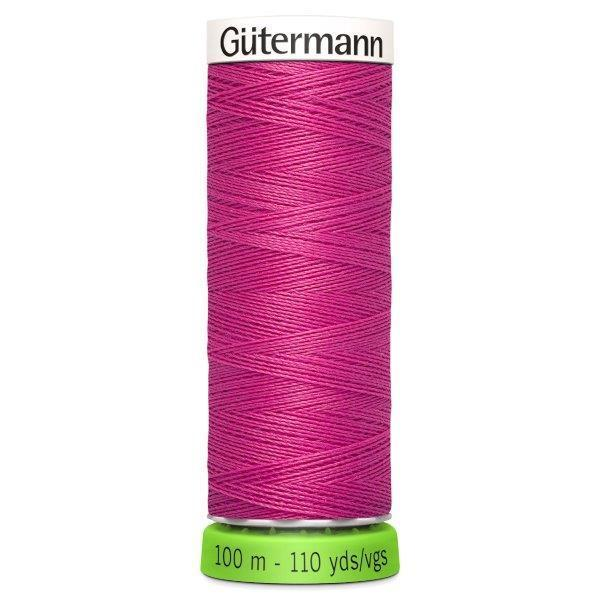 Gutermann Recycled Thread | 100m | Colour 733 Pink from Jaycotts Sewing Supplies