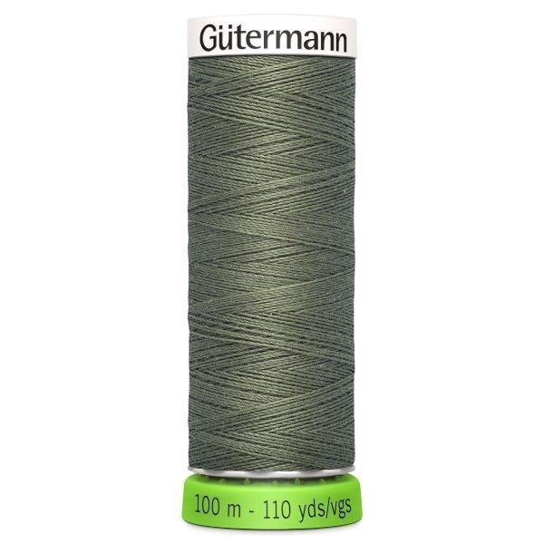 Gutermann Recycled Thread | 100m | Colour 824 Khaki from Jaycotts Sewing Supplies
