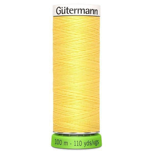 Gutermann Recycled Thread | 100m | Colour 852 Yellow