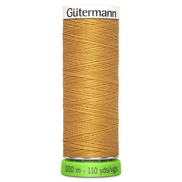 Gutermann Recycled Thread | 100m | Colour 968 Gold from Jaycotts Sewing Supplies