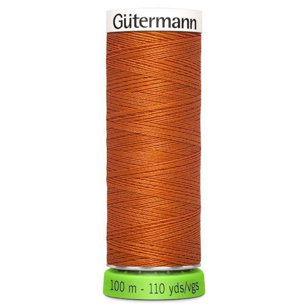 Gutermann Recycled Thread | 100m | Colour 982 Orange from Jaycotts Sewing Supplies