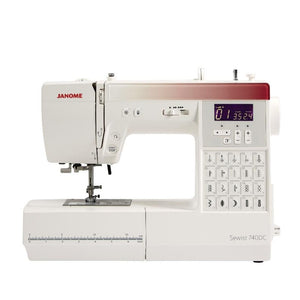 Janome Sewist 740DC sewing machine from Jaycotts Sewing Supplies