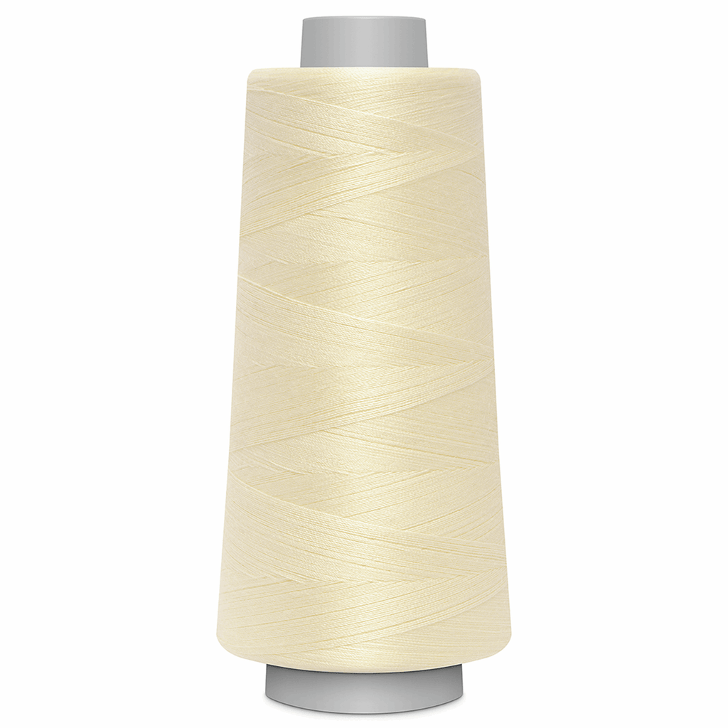 TOLDI-LOCK Overlock Thread - Cream | 2500m from Jaycotts Sewing Supplies