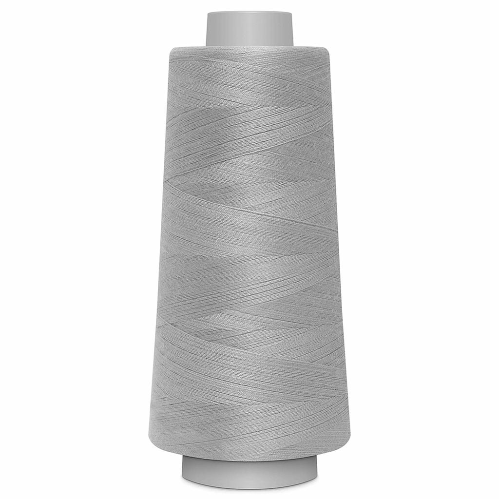 TOLDI-LOCK Overlock Thread - Light Grey | 2500m from Jaycotts Sewing Supplies