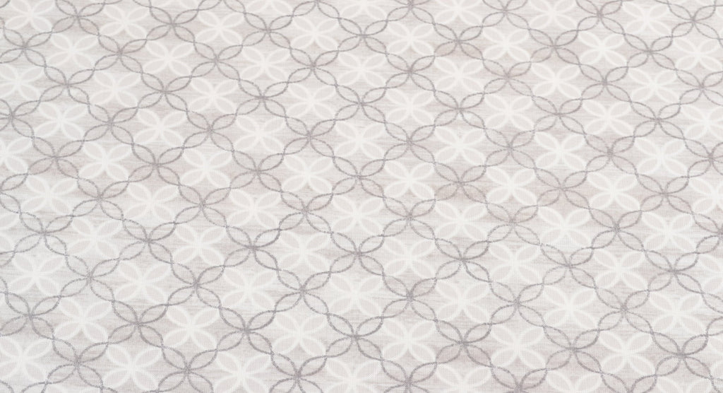 Contempo - Words To Live By 100% Cotton Fabric |  Trellis Grey from Jaycotts Sewing Supplies