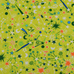 Kanvas Studio-All Systems Glow 100% Cotton Fabric |  Cosmic Geo from Jaycotts Sewing Supplies