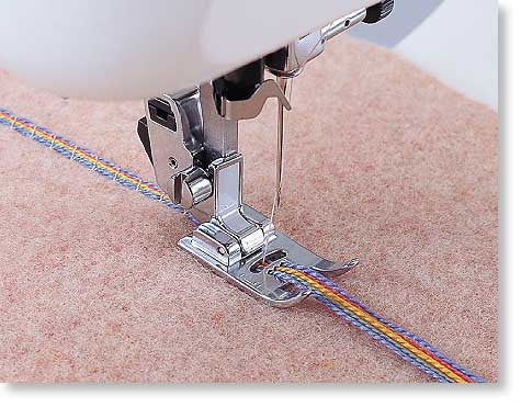 Brother Multi-hole Cording Foot (5 HOLE) from Jaycotts Sewing Supplies