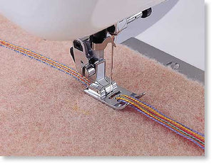 Brother Multi-hole Cording Foot (7 HOLE) from Jaycotts Sewing Supplies
