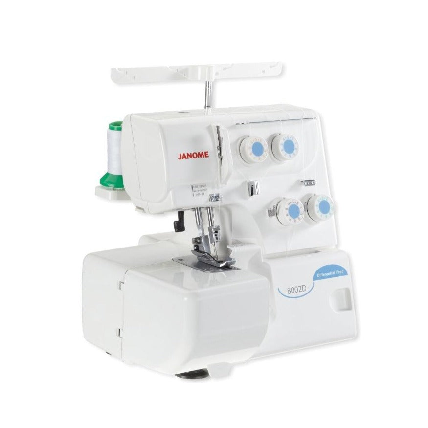 Janome 8002DG Overlocker from Jaycotts Sewing Supplies