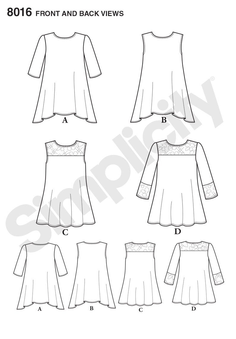 Simplicity Pattern 8016 This easy to wear top pattern for