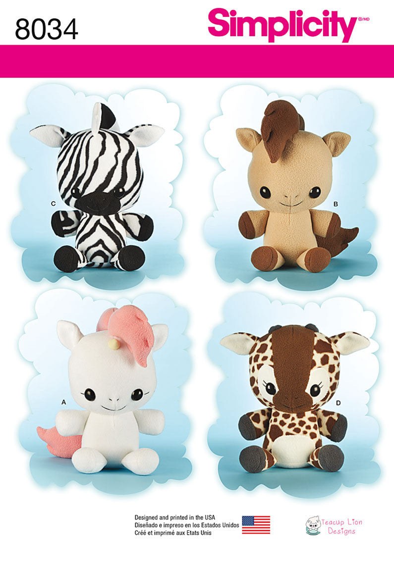 S8034  Animal Stuffies