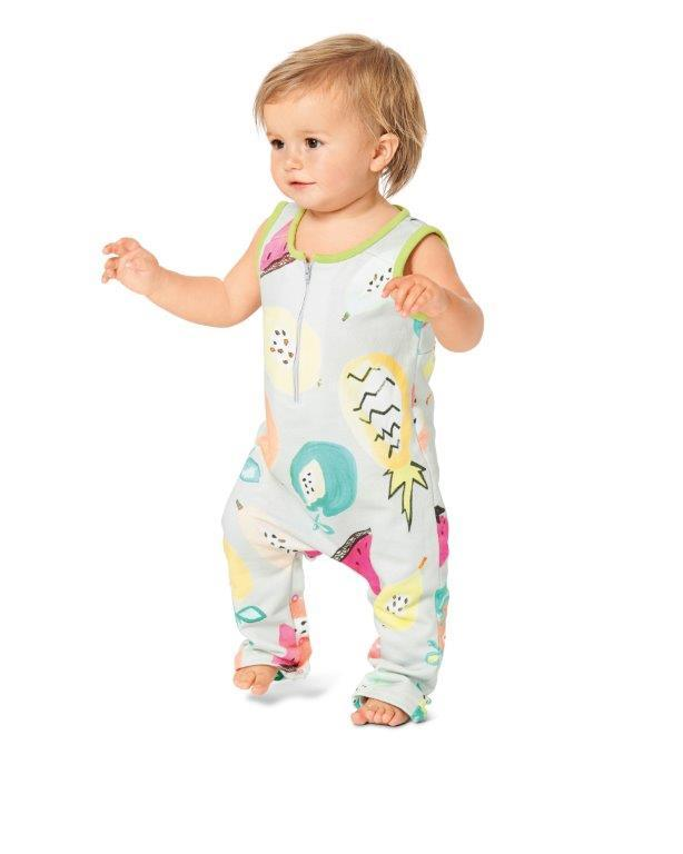Burda Pattern 9299 Toddlers' Overalls / Babygro