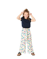 Burda Pattern 9302 Children's Pants with Elastic Waist – Culottes
