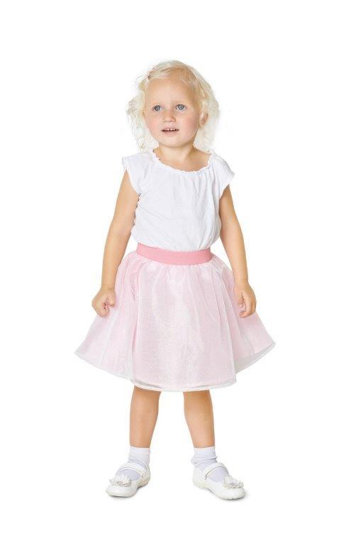 BD9319 Child's pinafore skirt sewing pattern