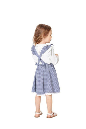 BD9319 Child's pinafore skirt sewing pattern from Jaycotts Sewing Supplies