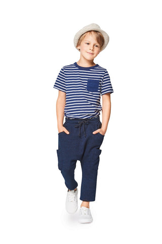 BD9342 Child's Elastic Waistband Trousers