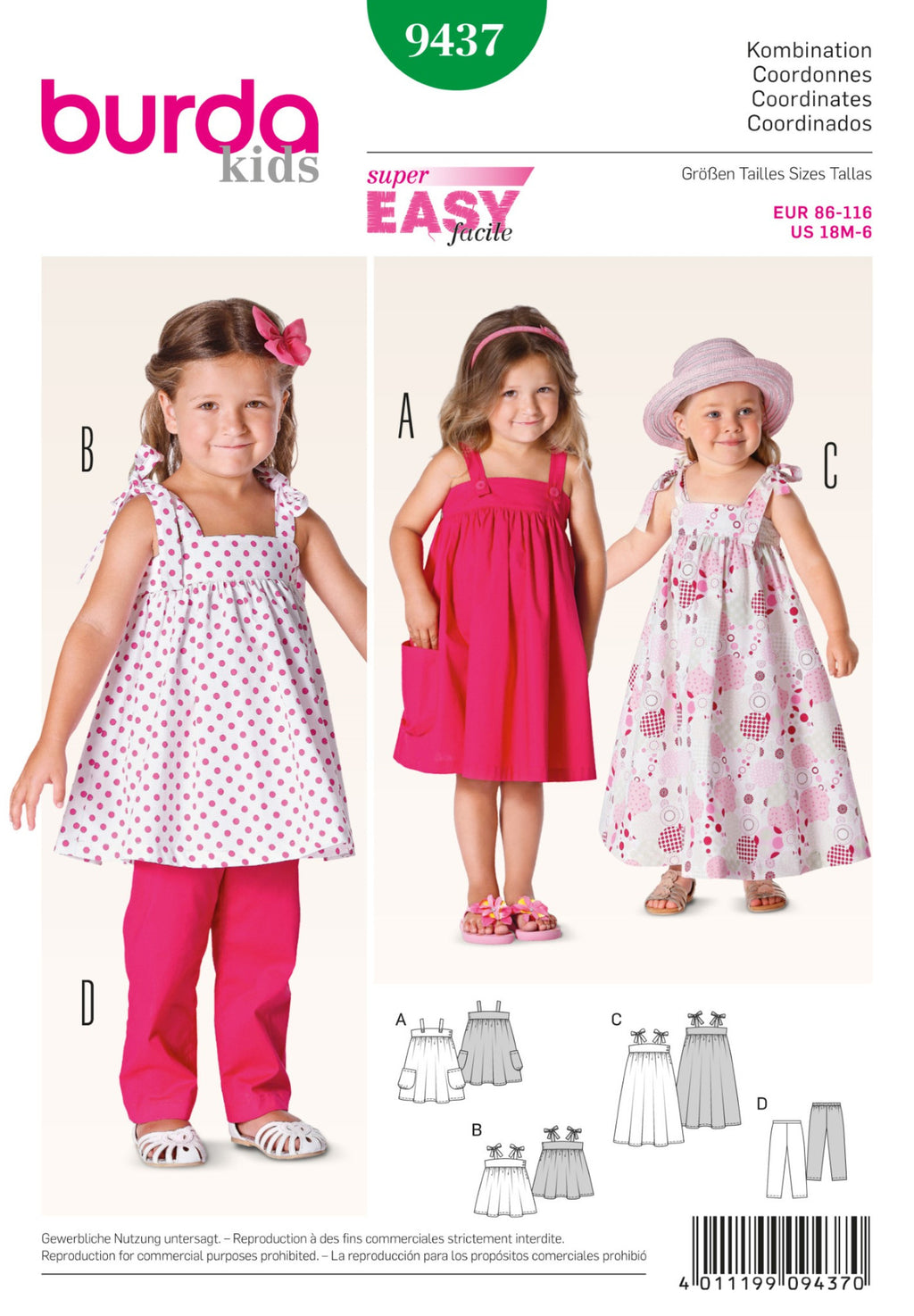 BD9437 Toddler Coordinates | Easy