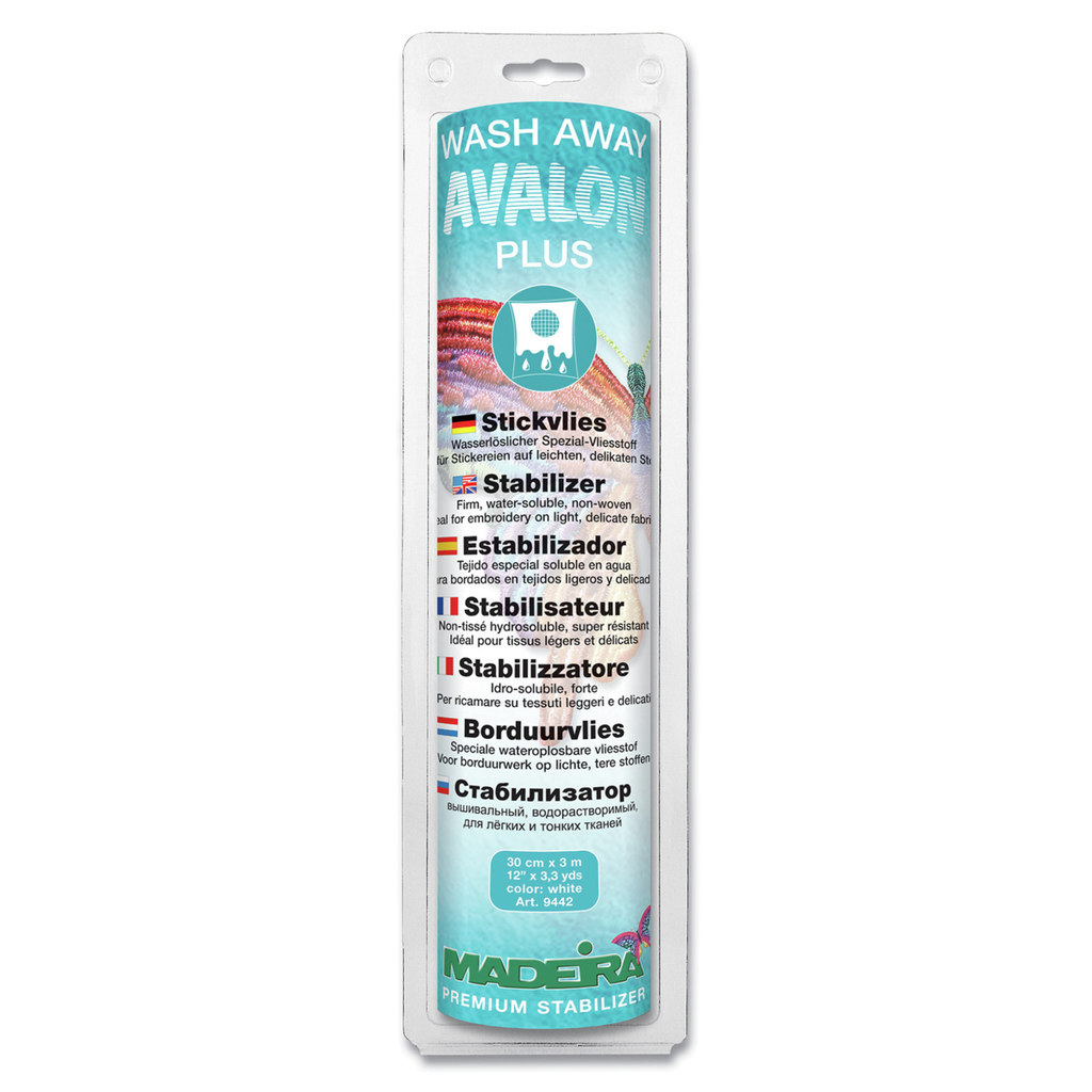 Madeira Stabilizer | Avalon Plus from Jaycotts Sewing Supplies