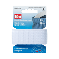 Prym Elastic with Lateral Stiffness | 30mm from Jaycotts Sewing Supplies