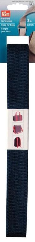 Prym Strapping / webbing for bags - 3m | Navy from Jaycotts Sewing Supplies