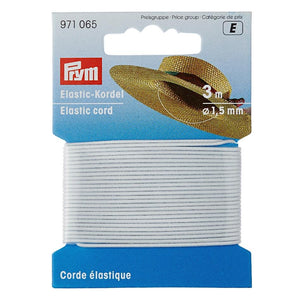 thin round cord elastic by Prym from Jaycotts