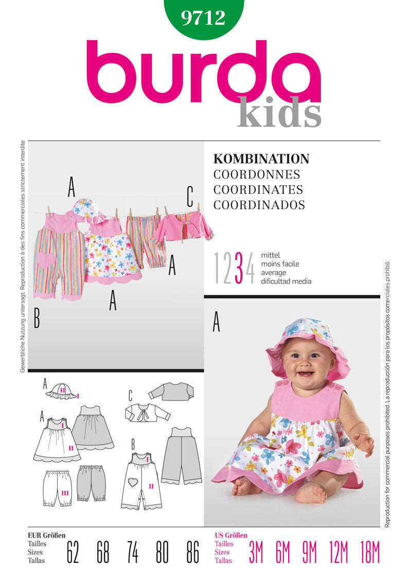 BD9712 Baby Girls' Outfits