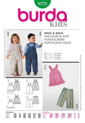 BD9772 Childrens' Outfits | Very Easy