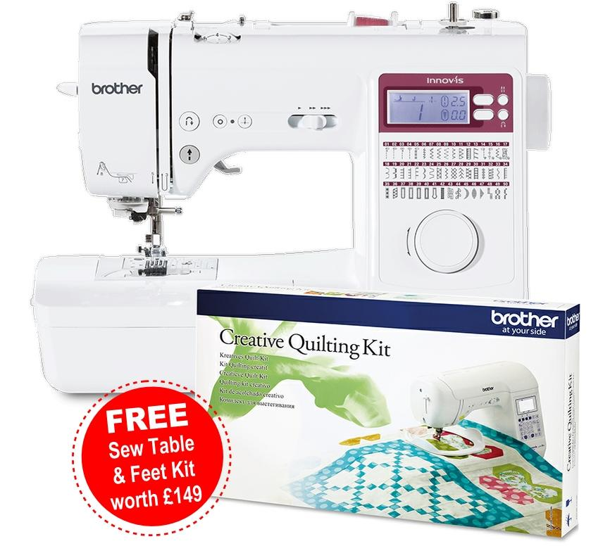 Brother Innov-is A50 with Free Kit worth £149