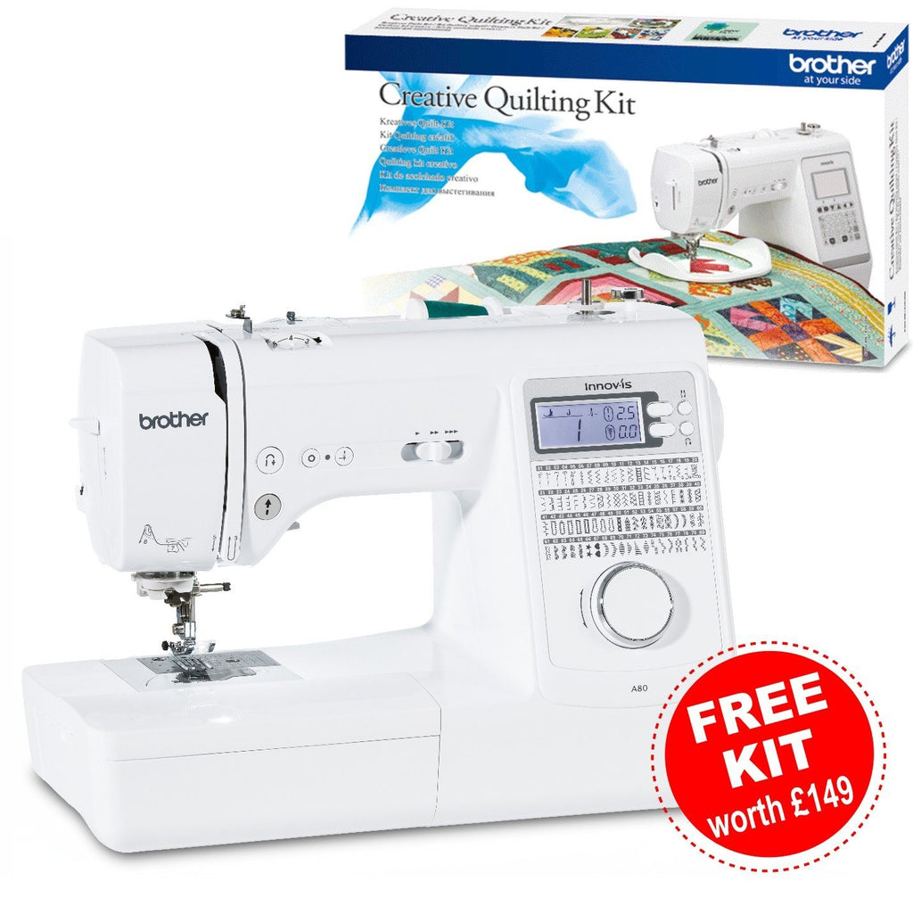 Brother Sewing Machine | Innov-is A80 with free kit