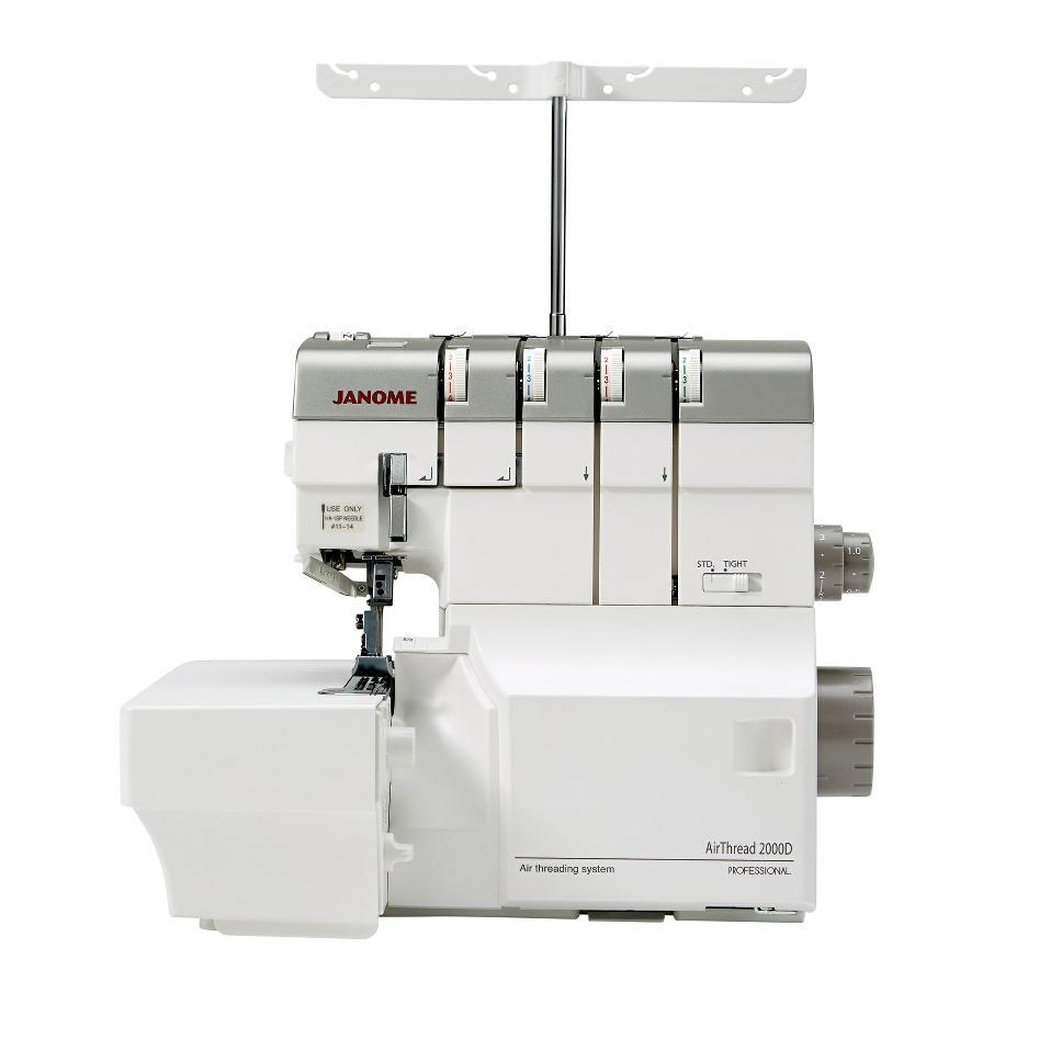 Janome AT2000D Air Thread Overlocker from Jaycotts Sewing Supplies