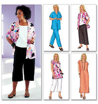 style options Butterick sewing pattern 3039