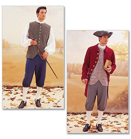 B3072 Men's Colonial Costume