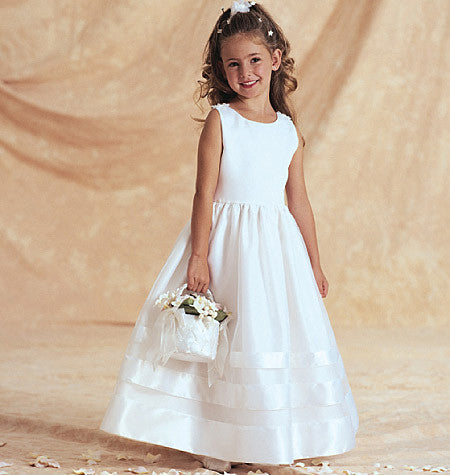 Butterick Sewing Pattern B3351 for Girl's Bridal jacket & dress