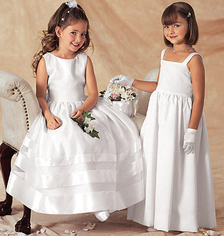 B3351 Girls' Jacket & Dress | Bridal | Easy