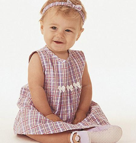 Butterick Sewing Pattern B3405 for Infants