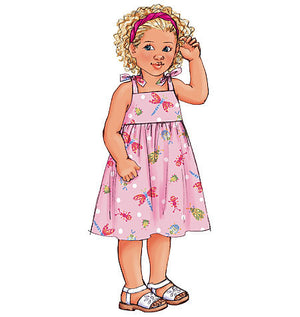 B3477 Children's Dress, Top, Short and Pants | Very Easy from Jaycotts Sewing Supplies
