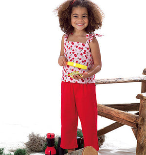 B3477 Children's Dress, Top, Short and Pants | Very Easy