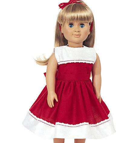 Butterick Sewing Pattern B3491 for Doll Clothes