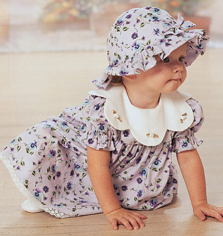 Butterick Sewing Pattern B4110 for Infants