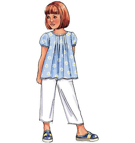 Butterick Sewing Pattern B4176 for Girls