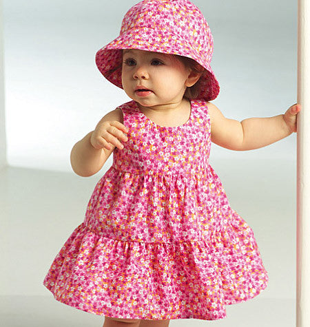 B5017 Infants' Top, Dress, Panties, Shorts, Pants & Hat