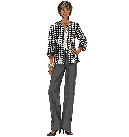 B5719 Women's Wardrobe Pieces | Easy